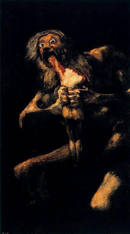 a66-Saturno devorando a un hijo (1821-23)